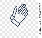 clap icon. trendy clap logo... | Shutterstock .eps vector #1246796782