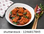 chettinad fish curry or meen... | Shutterstock . vector #1246817845