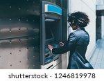side view of a businessman... | Shutterstock . vector #1246819978