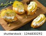 antipasti snacks for wine.... | Shutterstock . vector #1246830292