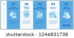 car rental service onboarding... | Shutterstock .eps vector #1246831738