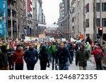 brussels  belgium   december 2  ... | Shutterstock . vector #1246872355