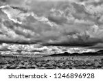 sonora desert in infrared... | Shutterstock . vector #1246896928