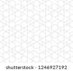 abstract geometric pattern with ... | Shutterstock .eps vector #1246927192