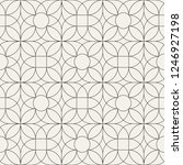 seamless linear pattern with... | Shutterstock .eps vector #1246927198