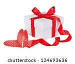 gift box | Shutterstock . vector #124693636