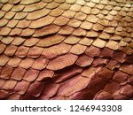 texture of genuine leather ... | Shutterstock . vector #1246943308