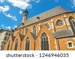 brussels  belgium  mary... | Shutterstock . vector #1246946035
