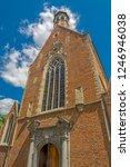 brussels  belgium  mary... | Shutterstock . vector #1246946038
