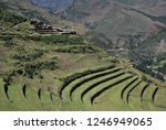 landscape in the sacred valley... | Shutterstock . vector #1246949065