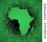 sketch blot dotty african...   Shutterstock . vector #1246953655
