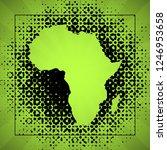 sketch blot dotty african...   Shutterstock . vector #1246953658