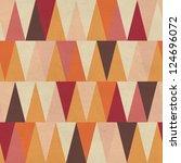 Stock photo seamless geometric pattern on paper texture 124696072