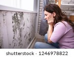 side view of a shocked young... | Shutterstock . vector #1246978822