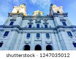 spires of the cathedrals of... | Shutterstock . vector #1247035012