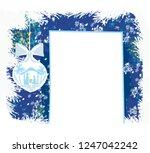 christian christmas nativity... | Shutterstock . vector #1247042242