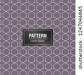 geometric pattern background.... | Shutterstock .eps vector #1247046865