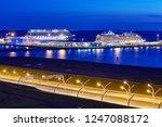 st. petersburg  russia   august ... | Shutterstock . vector #1247088172