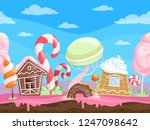 game seamless sweet landscape....