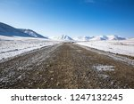 qinghai plateau highway and... | Shutterstock . vector #1247132245