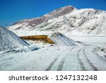 qinghai plateau highway and... | Shutterstock . vector #1247132248