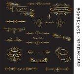 vector design elements | Shutterstock .eps vector #124716406