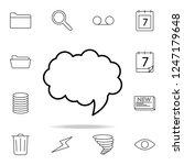 communication bubble icon....