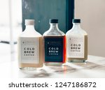 Cold Brew Coffee Bottle Mockup...