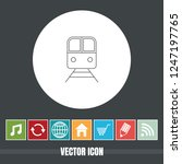 very useful vector line icon of ...   Shutterstock .eps vector #1247197765