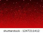 horizontal banner or background ... | Shutterstock .eps vector #1247211412