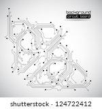 circuit board backgrounds... | Shutterstock .eps vector #124722412