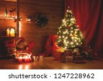 christmas and new year... | Shutterstock . vector #1247228962