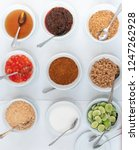 thai flavouring sugar  fish... | Shutterstock . vector #1247262928