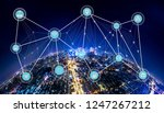 5g network wireless systems and ... | Shutterstock . vector #1247267212
