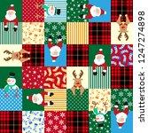 christmas image illustration... | Shutterstock .eps vector #1247274898