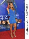 christina milian at the world... | Shutterstock . vector #124728028