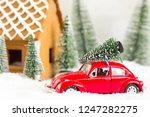 hungary   december  2018  red... | Shutterstock . vector #1247282275