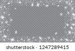 snow blizzard effect. festive... | Shutterstock .eps vector #1247289415
