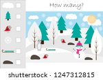 how many counting game with...   Shutterstock .eps vector #1247312815