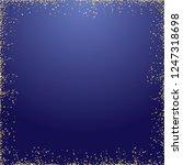 golden sparkling square... | Shutterstock .eps vector #1247318698