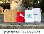 nakhon prathom  thailand... | Shutterstock . vector #1247322145