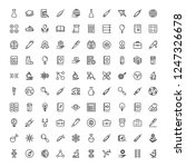 science icon set. collection of ...   Shutterstock .eps vector #1247326678