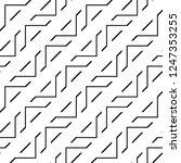 design seamless monochrome... | Shutterstock .eps vector #1247353255