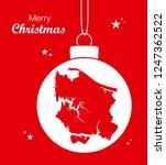 merry christmas illustration...   Shutterstock .eps vector #1247362522