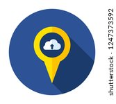 cloud data location pin place...