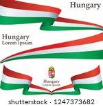 flag of hungary  hungary....   Shutterstock .eps vector #1247373682