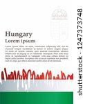 flag of hungary  hungary....   Shutterstock .eps vector #1247373748