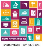 set of icons of different home... | Shutterstock .eps vector #1247378128
