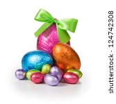 Group Of Colorful Candy Easter...