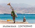 eilat  israel   may 15  2012 ... | Shutterstock . vector #1247439445